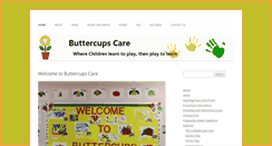 Preview of buttercups-care.co.uk